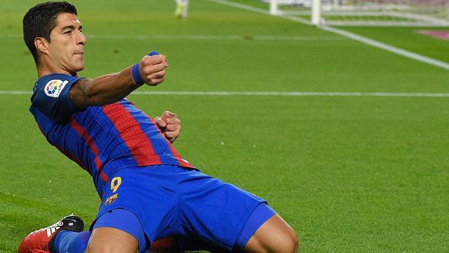Barcelona's Uruguayan forward Luis Suarez.