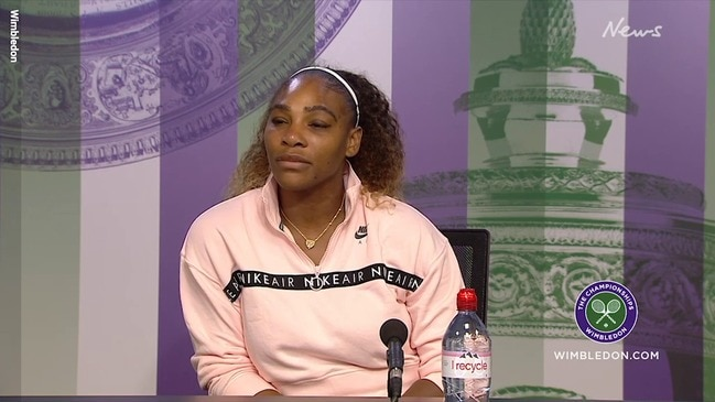 Serena Williams' defiant statement after Wimbledon loss
