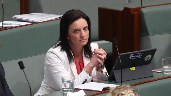 Ms Husar announced she would quit politics in August following an investigation into claims she bullied staff, but has since changed her mind. Picture: Kym Smith