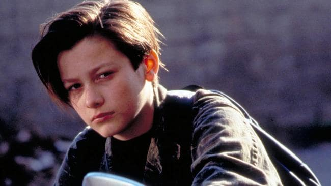 Edward Furlong in Terminator 2: Judgment Day.