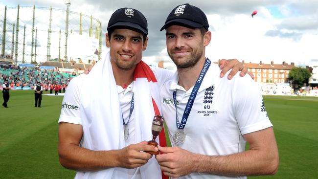 Alastair Cook and James Anderson are England's best ever Test batsman and bowler, according to Andrew Flintoff.