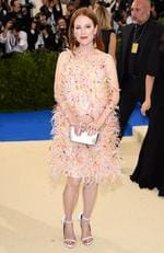 "Julianne Moore attends the ""Rei Kawakubo/Comme des Garcons: Art Of The In-Between"" Costume Institute Gala at Metropolitan Museum of Art on May 1, 2017 in New York City. Picture: Getty"