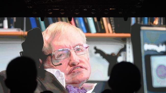 Stephen Hawking warned a trend for 'designer babies' would lead to a class of superhumans. Picture: Greg Baker