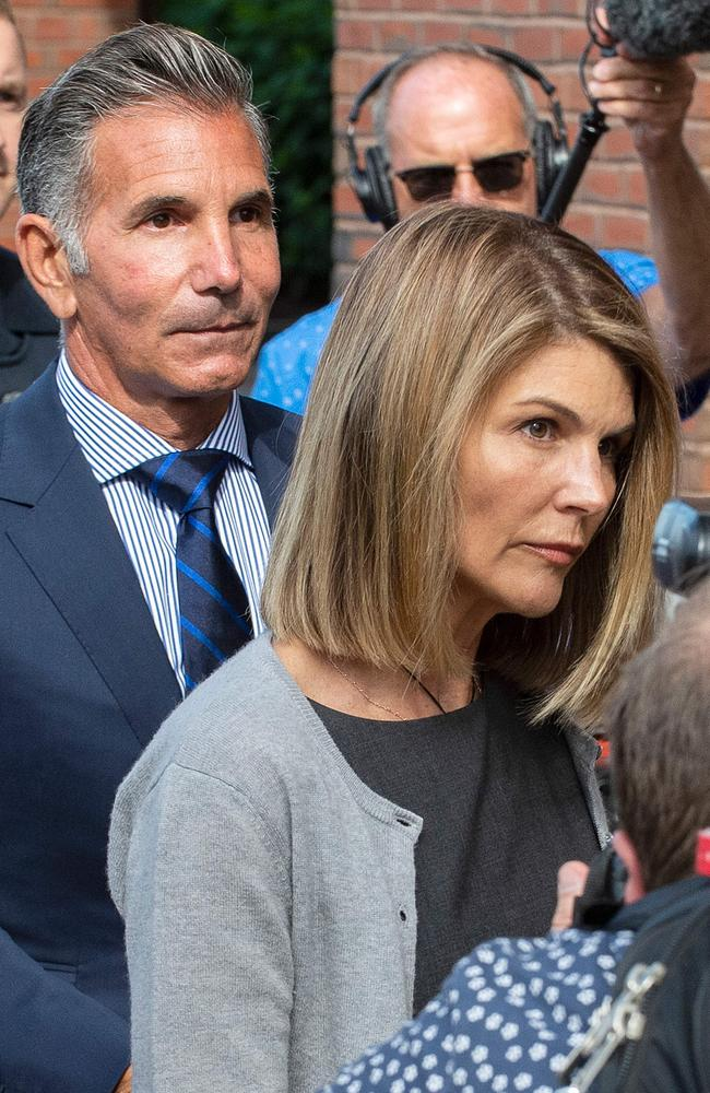 Lori Loughlin is vowing to clear her name. Picture: AFP