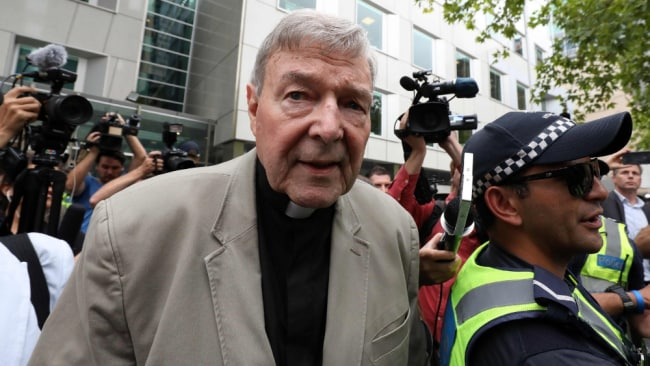 The word is out on Cardinal George Pell. Image: AFP