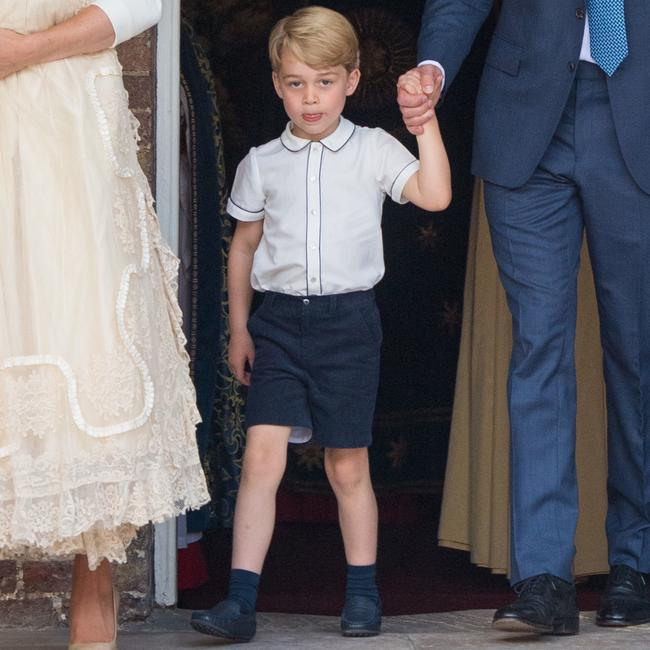 The little Prince will celebrate his sixth birthday next week. Picture: Dominic Lipinski/WPA/Getty Images