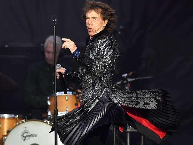 Mick Jagger performs live on stage on the opening night of the European leg of their No Filter tour at Croke Park on May 17, 2018 in Dublin, Ireland. Picture: Getty Images