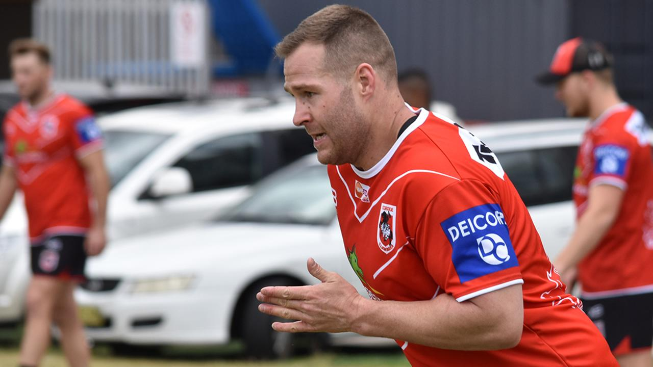 Trent Merrin is back at the Dragons. Photo credit: St George Illawarra Dragons