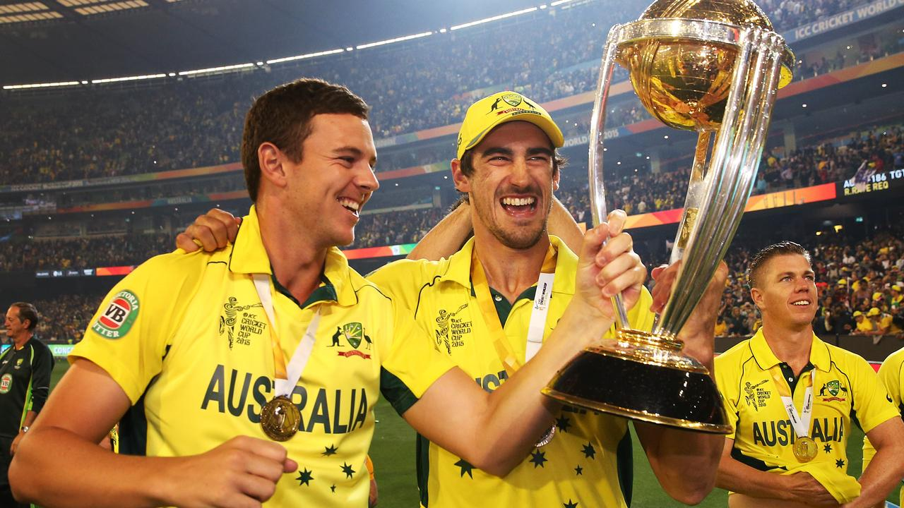 Josh Hazlewood was a part of the Australian attack that won the 2015 World Cup.
