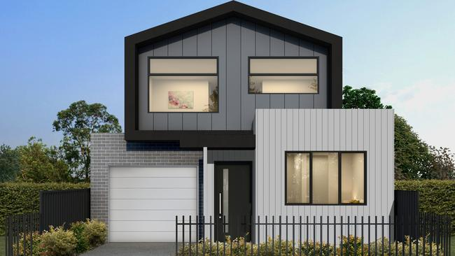 2/82 Elizabeth St, Geelong West is now for sale for $735,000-$775,000 through Hodges, Geelong West. It will be one of five townhouses on the site.