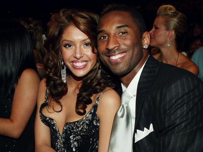 Kobe Bryant and Vanessa at the 2004 MTV Movie Awards. (Photo by Frank Micelotta/Getty Images)