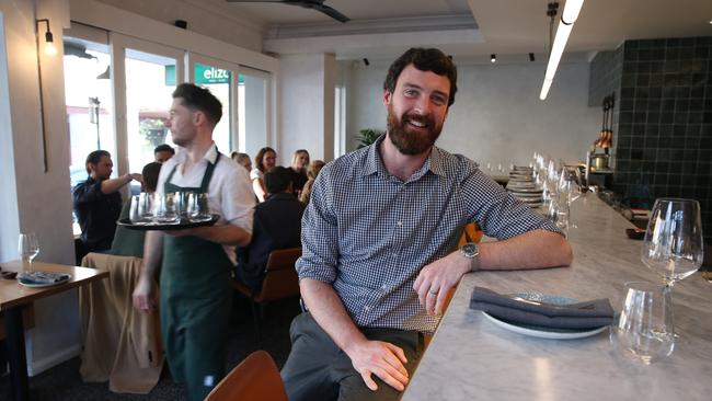 'Finding good staff … is really, really hard at the moment,' says Rory Fitzpatrick, manager at Eliza Food and Wine in Darlinghurst, Sydney. Picture: Britta Campion