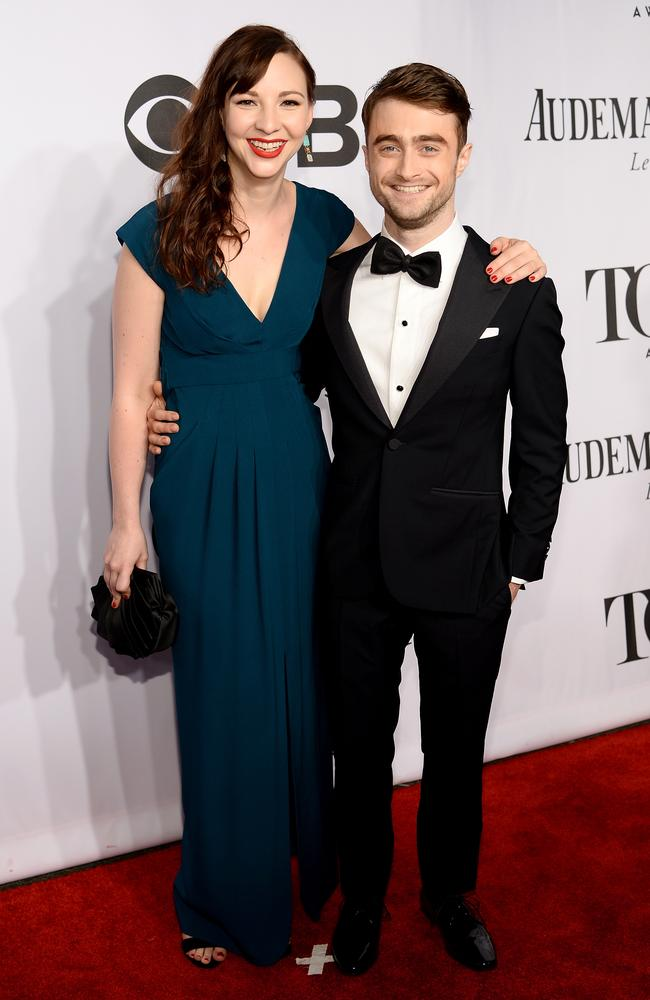 Radcliffe is 165cm while Erin Darke is 170cm. Picture: Getty