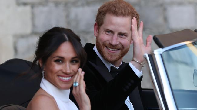 When Meghan and Harry were married in 2018, they were gifted Frogmore Cottage and the promise of an ongoing allowance from the Queen. Picture: Steve Parsons – WPA Pool/Getty Images