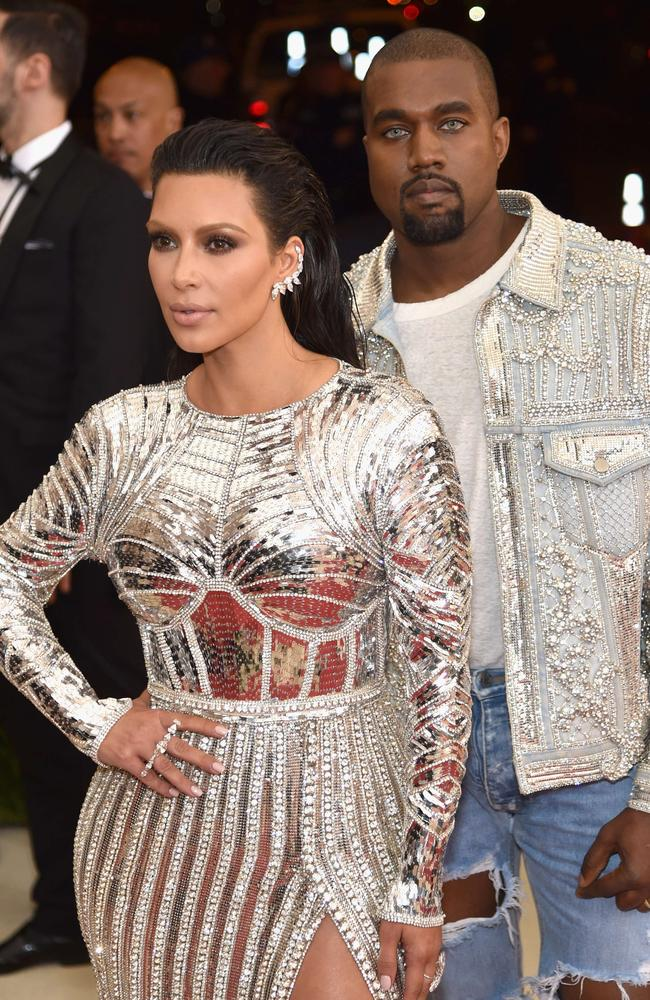 Kim Kardashian and Kanye West have helped make each other more famous. Picture: Getty Images