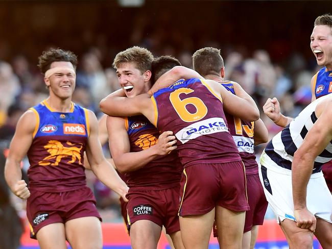 Brisbane's insane 2019 had them inches away from the minor premiership.