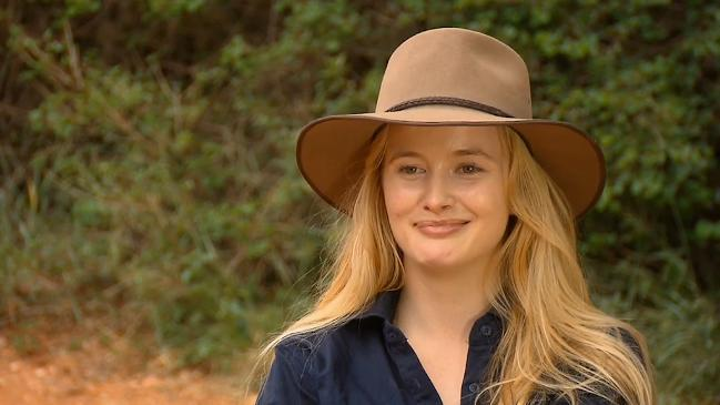 JMo interviews Simone Holtznagel following her departure from the I'm a Celebrity...Get Me Out of Here! jungle