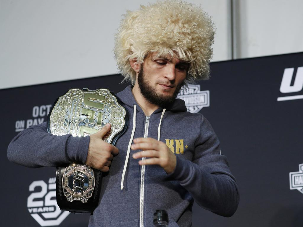 Khabib's has plenty of options for his next opponent including Floyd Mayweather and Georges St-Pierre.