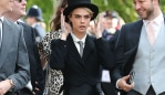Cara Delevingne at Princess Eugenie's Wedding. Photo: AP