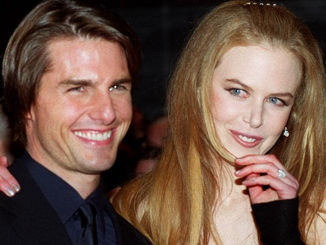 """At the premiere of """"Eyes Wide Shut"""" in 1999."""