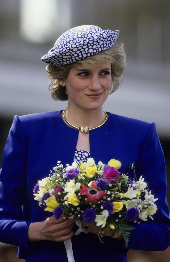 Princess Diana committed a major faux pas during her first royal Christmas. Picture: Georges De Keerle