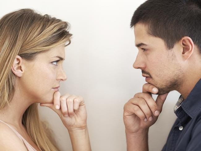 Constructive arguments between couples can be hard to master. Picture: iStock
