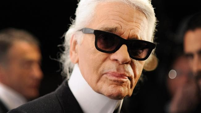 Karl Lagerfeld, who would have turned 86 today.
