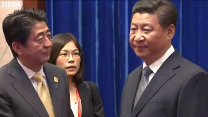 China and Japan in ice-breaker talks