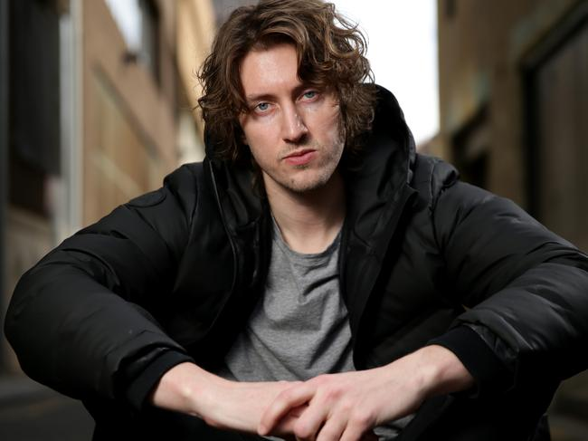 Australian singer Dean Lewis was No.1 for five weeks with Be Alright. Picture: Jonathan Ng