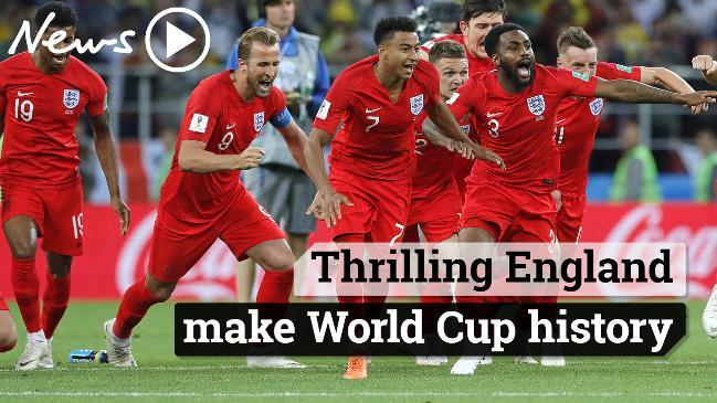 Thrilling England make World Cup history