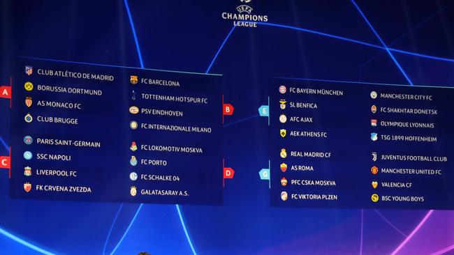 The groups.