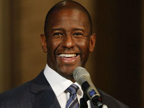 Democrat Andrew Gillum from Florida. Picture: Supplied
