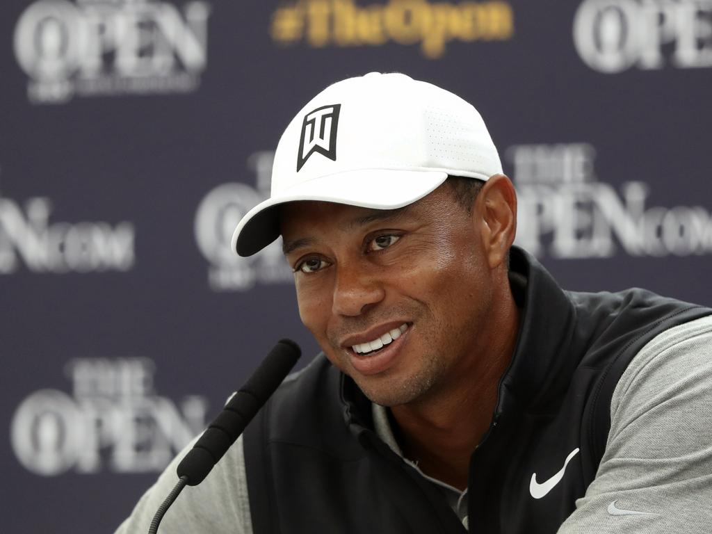 Woods is about to open up on his life.