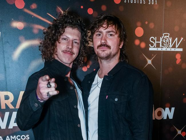 The Peking Duk boys — Reuben Styles and Adam Hyde — were out in force.