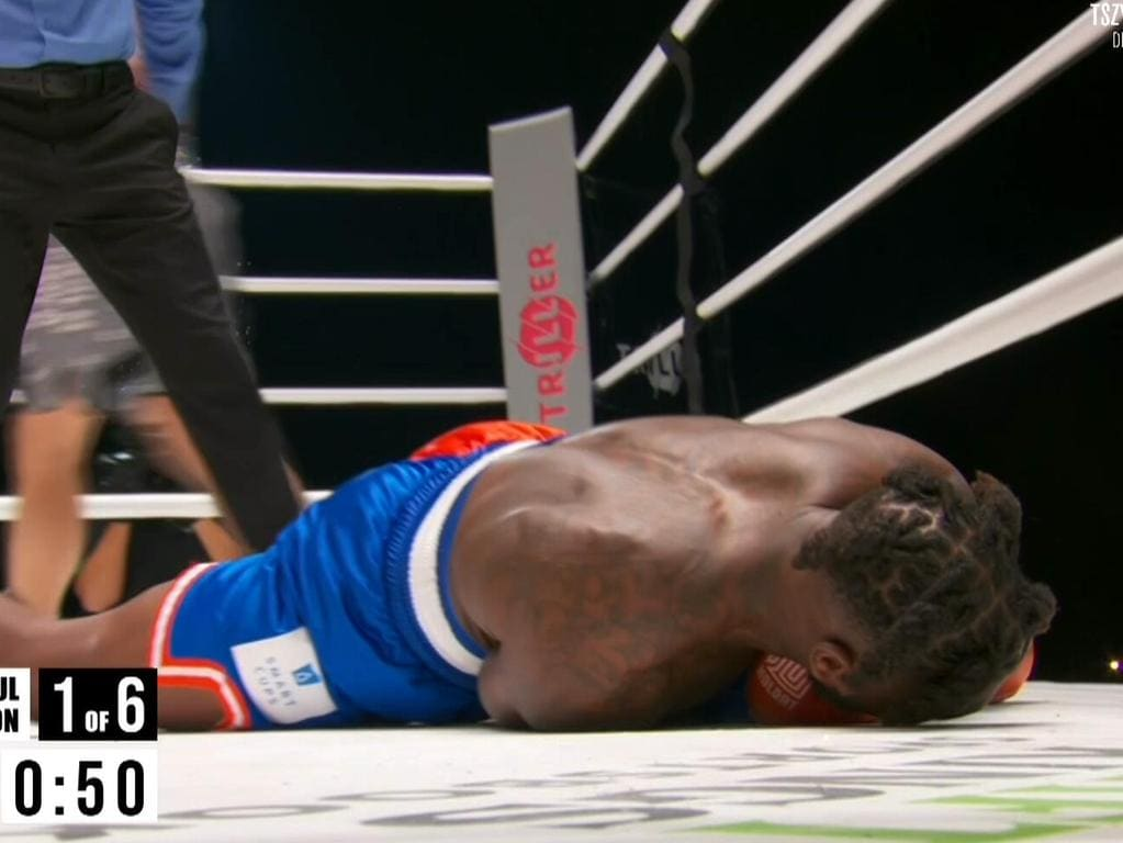 Nate Robinson was knocked down three times in two rounds.