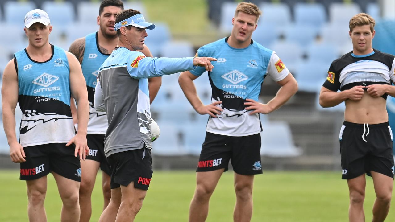 Sharks coach John Morris is a fan of the six again rule change.