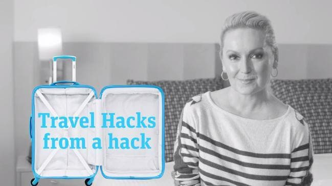 NOT FOR EDITORIAL USE - Travel Hacks from a hack