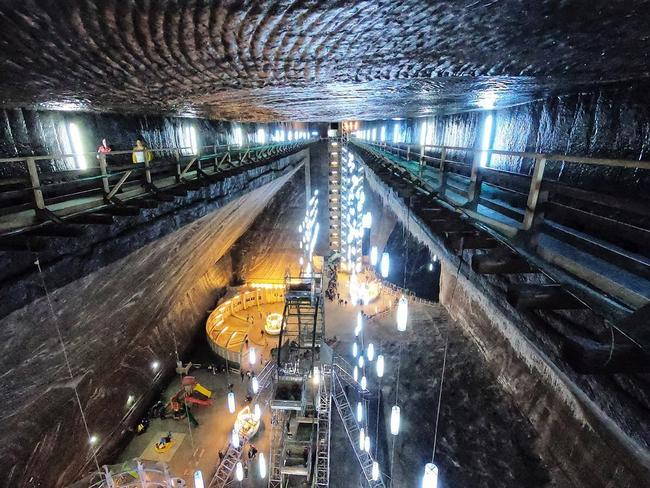 Your first view of the mine will take your breath away. Picture: Alle McMahon