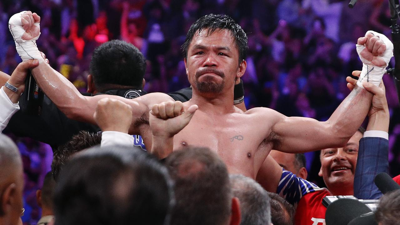 Manny Pacquiao is ageless.
