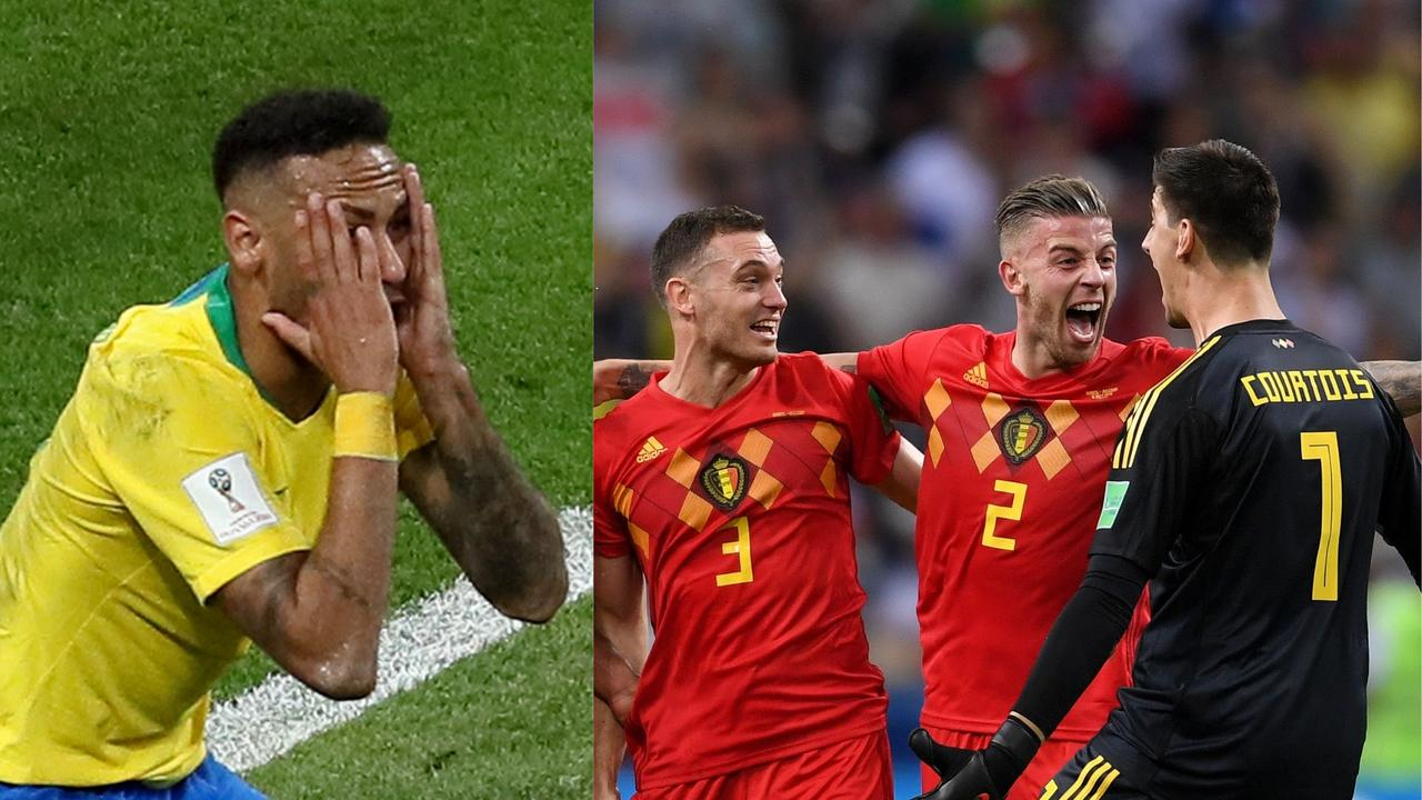 Brazil are out of the World Cup after being beaten by Belgium