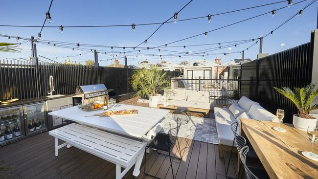 Their rooftop terrace boasts the best city views.