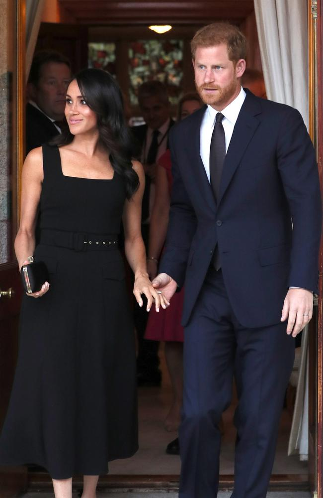 Meghan's comments may have landed her in hot water. Credit: EPA/Brian Lawless /Pool