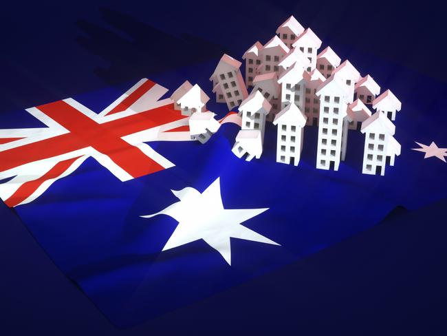 Just one city will avoid the crash in property prices.