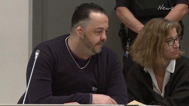 German nurse arrives in court for sentencing of 85 patient murders
