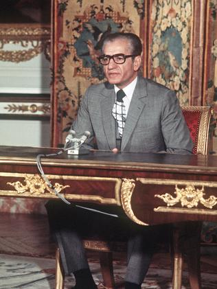 The Shah of Iran in June 1974. Picture: AFP