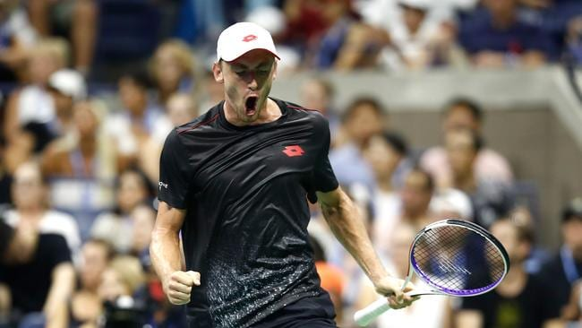 ohn Millman has stunned the tennis world by beating Roger Federer.