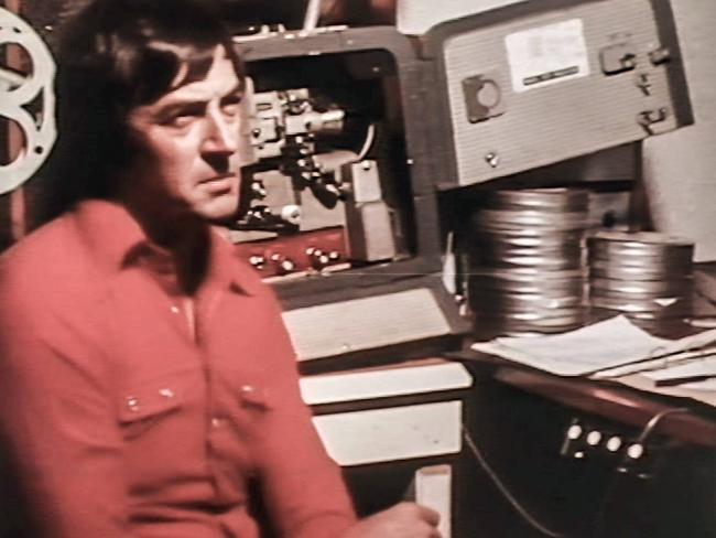 David Crockett in 1978.