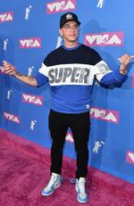 Logic attends the 2018 MTV Video Music Awards at Radio City Music Hall on August 20, 2018 in New York City.Picture: Mike Coppola/Getty Images for MTV