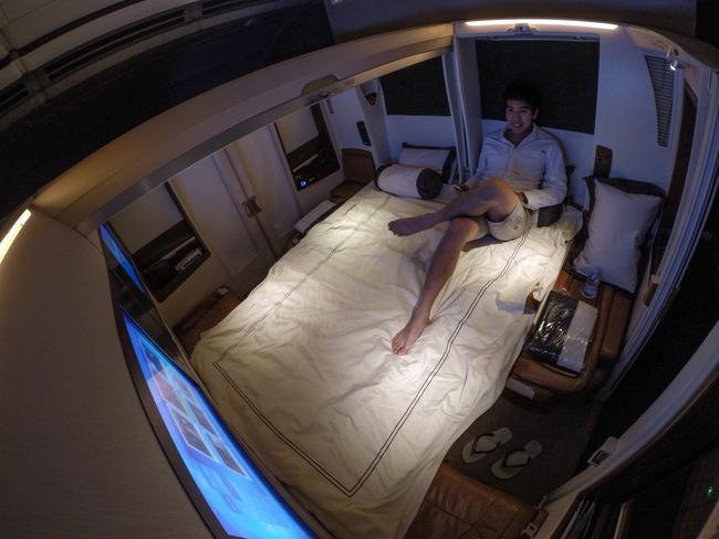 So. Much. Room. Picture: Derek Low