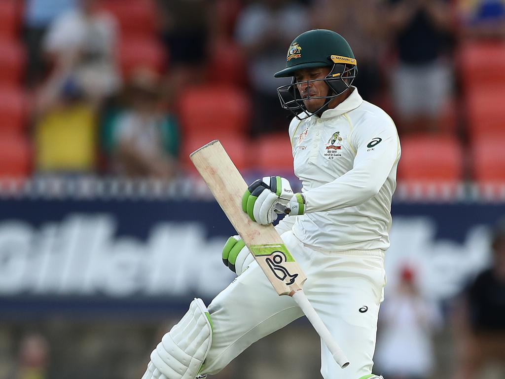 With his Test spot on the line, Khawaja carved out a brilliant century on day three of the second Test.